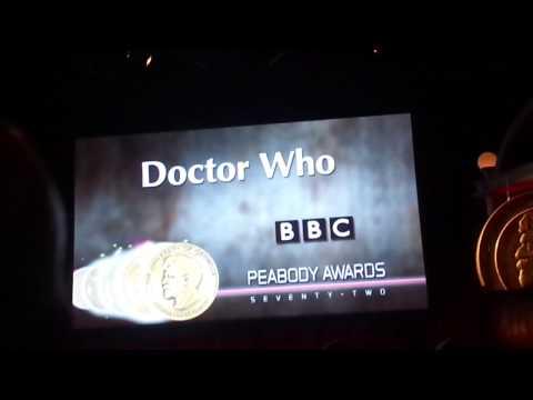 Doctor Who Peabody awards ceremony