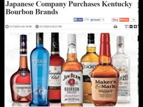 Japanese Company Purchases Kentucky Bourbon Brands