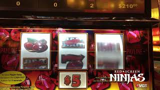VGT SLOTS - LADY LADY ON RUBY RED FOR A HANDPAY JACKPOT!