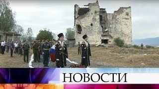 В Южной Осетии скорбят о жертвах войны 2008 года.