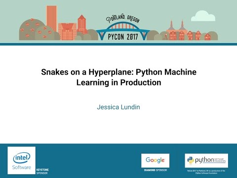 Image from Snakes on a Hyperplane: Python Machine Learning in Production