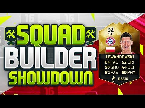FIFA 16 SQUAD BUILDER SHOWDOWN!!! UPGRADED INFORM LEWANDOWSKI!!! 92 Rated Lewandowski Squad Duel