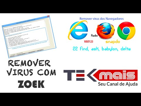 Remover virus 123rede hao123 TOP8844  e outros de navegadores com Zoek