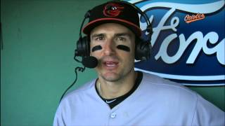Ryan Flaherty chats about his big day at Fenway Park