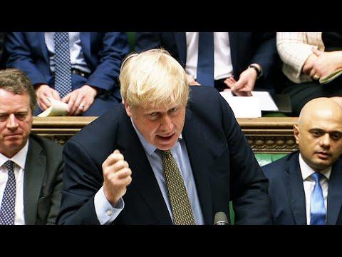 Boris Johnson's first