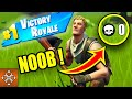 10 Stunts Only FORTNITE NOOBS Think Would Work