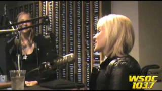 "103.7 WSOC: Kellie Pickler Interview on ""Tanner in the Morning"" (Part 1)"