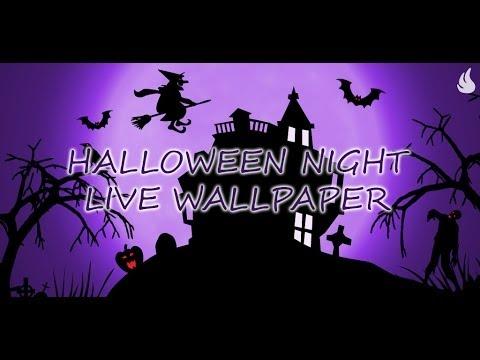 Halloween Night Live Wallpaper