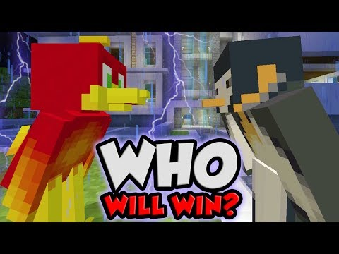 THE BATTLE OF THE BIRDS! (Minecraft Murder Mystery)