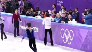 Yuzuru Hanyu PyeongChang Mens FS 6min Warmup