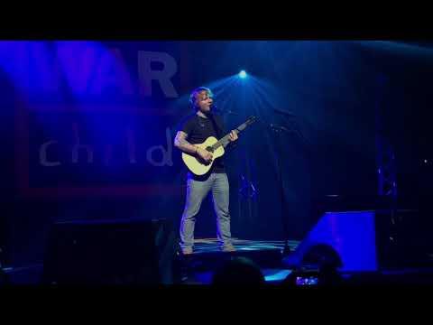 Ed Sheeran - Happier (Live for Warchild @ Indigo O2, London)