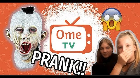 Horror PRANK  Ometv! Omegle! Ome.tv Deutsch Live Chat Reaktion #020