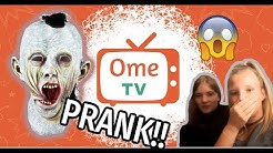 Horror PRANK  Ometv! Omegle! Ome.tv Deutsch Live Chat Reaktion #020