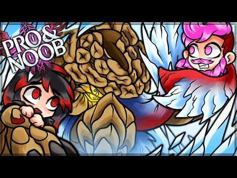 ELDERFROST DESTROYER OF WORLDS  Pro and Noob VS Monster Hunter Stories 2 Wings of Ruin!