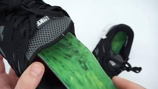 Кроссовки для бега Nike Free Run 2 Найк Фри Ран, черно-белые