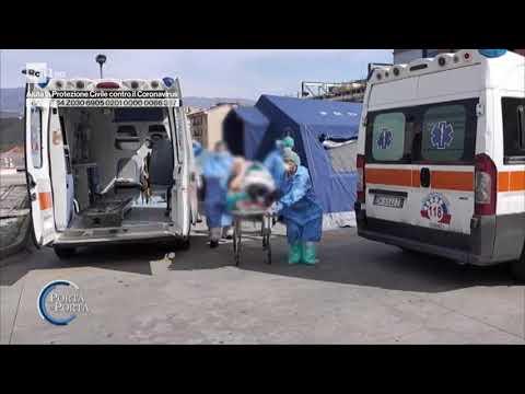 Coronavirus: la situazione in Calabria - Porta a porta 19/03/2020