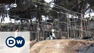 حريق يدمر مخيم موريا في اليونان   الأخبار
