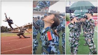 Tik Tok Học Sinh Trung Quốc ▶ Học Quân Sự Vui Như Nào