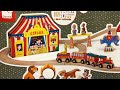 watch he video of Janod Giant Wood Circus Railway Toy Train Set  #Unboxing