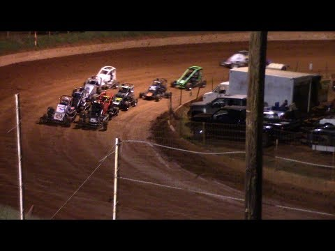 Winder Barrow Speedway Lucas Oil Midget Cars Race 9/15/18