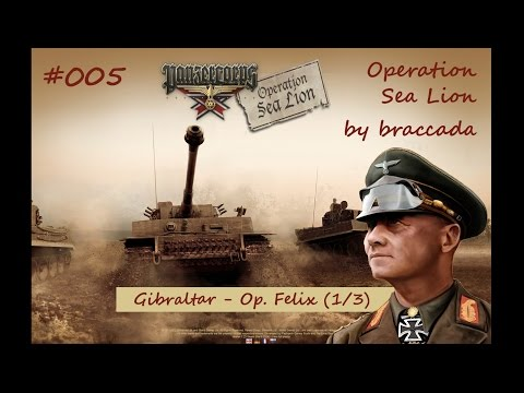 #05 | Panzer Corps | Operation Sea Lion - Gibraltar (1/3)