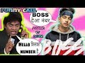 Boss:Jass Manak and Johnny lever funny call Roast video Geet Mp3 funny video latest Punjabi songs