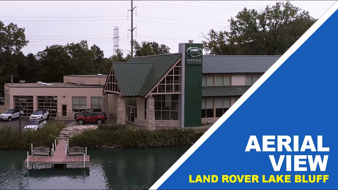 Land Rover Lake Bluff >> Aerial View Of Land Rover Lake Bluff