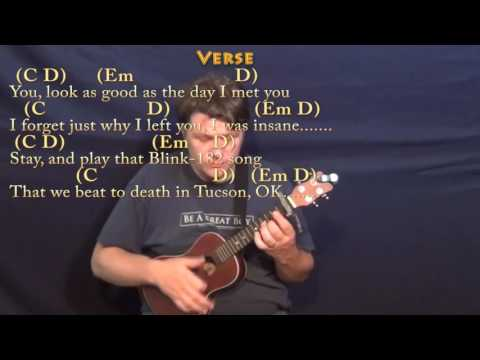 Closer (The Chainsmokers) Ukulele Cover Lesson with Chords/Lyrics