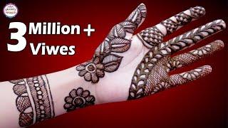 Latest Mehndi Designs for Hands | Arabic Henna | 3D Mehndi Designs by Jyoti Sachdeva.