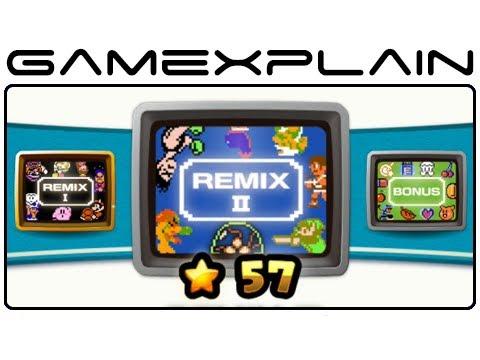 NES Remix 2: All Remix & Bonus Stages (Wii U)