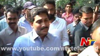 YS Jagan Condolences to Nandamuri Janakiram Family