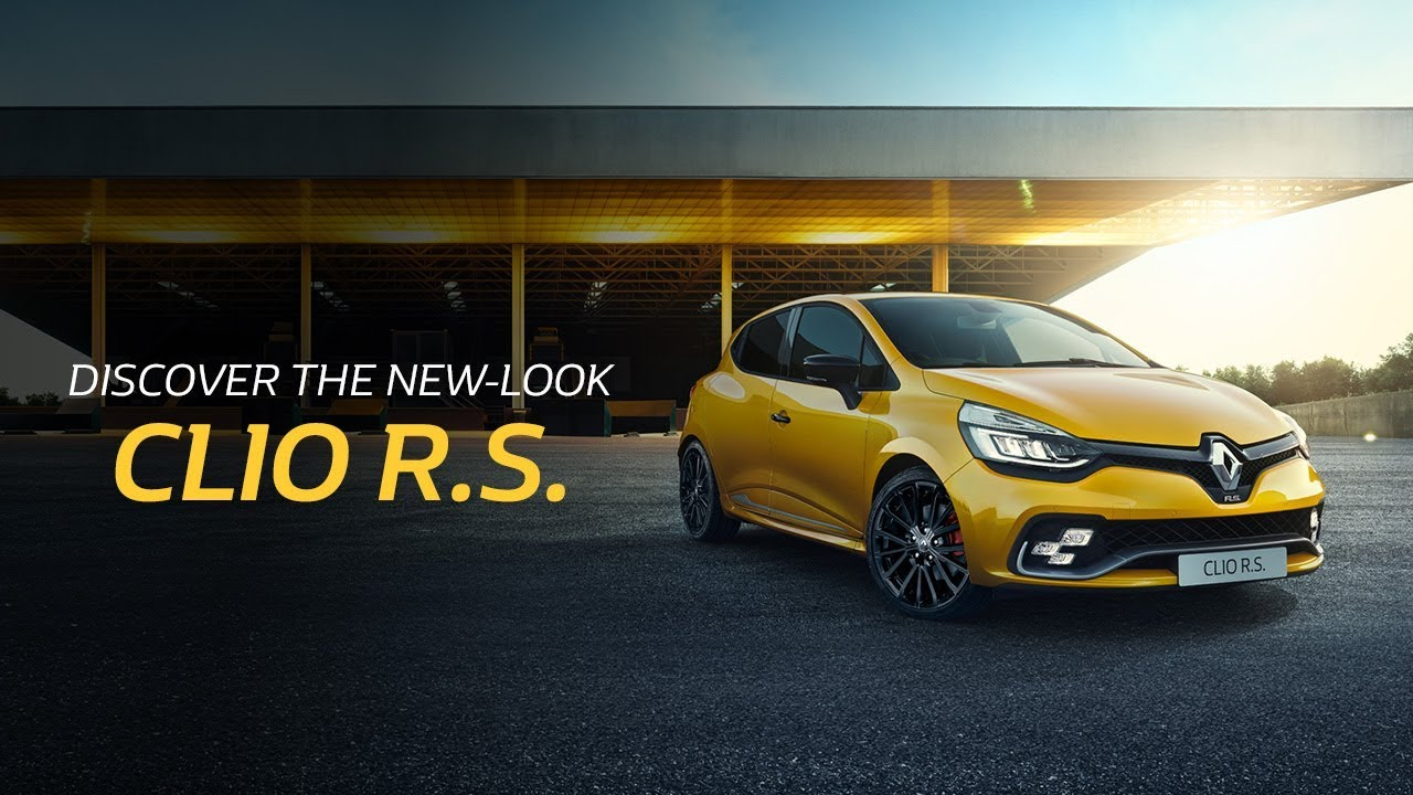 Discover the New-look CLIO R.S.