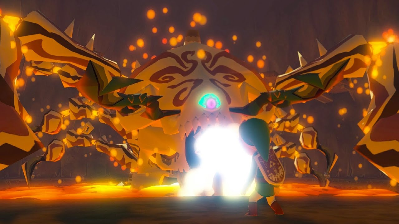 Zelda Wind Waker Hd Gohma Boss Fight 1 1080p 60fps