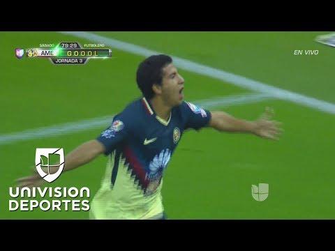 Cecilio Domínguez cobra revancha a lo 'Panenka' y América ya lo gana