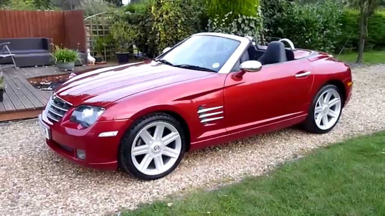 video review of 2005 chrysler crossfire convertible for sale sdsc specialist cars cambridge. Black Bedroom Furniture Sets. Home Design Ideas