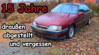 Verlassener Opel Omega, Motor starten
