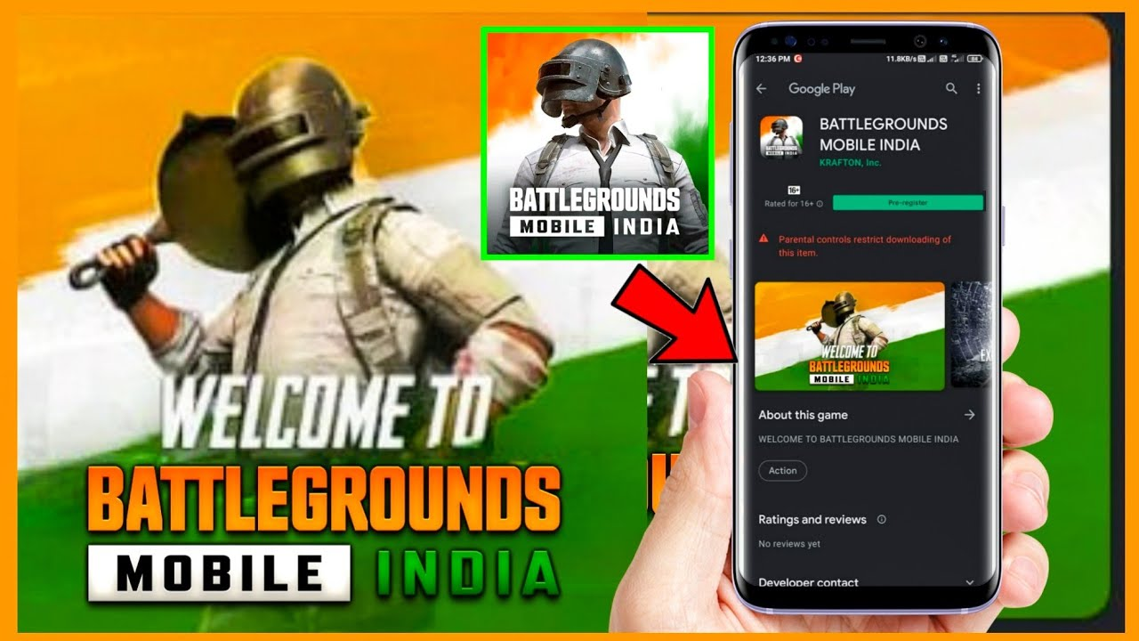 GET FREE REWARDS ON PRE REGISTRATION : BATTLEGROUNDS MOBILE INDIA IS HERE
