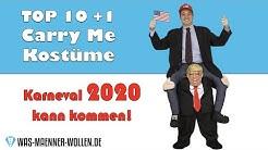10 +1 Carry Me Kostüme - Karneval 2020 - Lustige Huckepack-Kostüme - Der Trend zu Fasching!