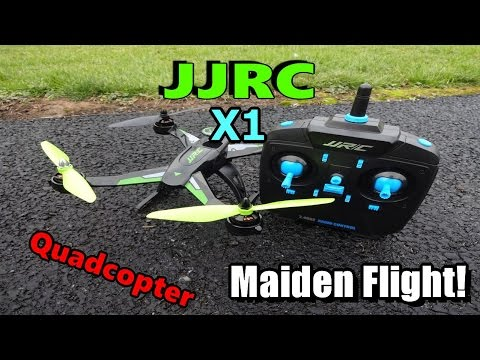 JJRC X1 Maiden Flight!