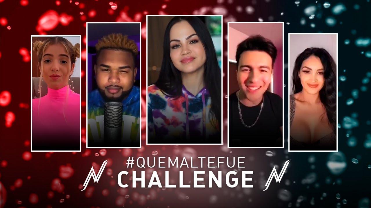 "Natti Natasha - Que Mal Te Fue ""Challenge"""