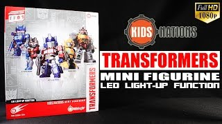 Transformers Kids Nation Series TF-01 Five Pack Kids Logic mini Figurine review