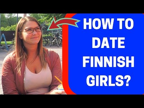 How to Date Finnish Women (Street Interview with ENG SUB)