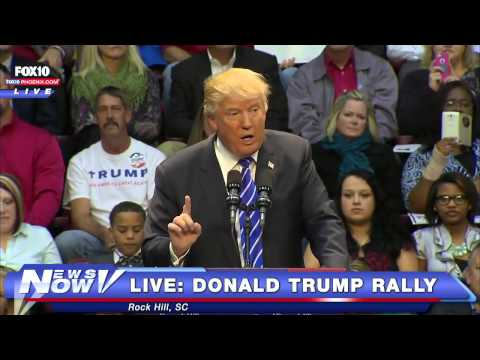 FNN: FULL Donald Trump Rally Rock Hill, SC - Jan 8, 2016