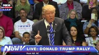 FNN: FULL Donald Trump Rally Rock Hill, SC - Jan 8, 2016
