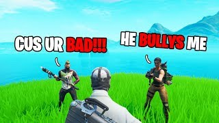 He Got Bullied For Playing With Controller, So I Bought Him THIS.. (Fortnite)