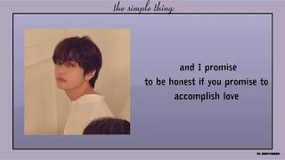 The Simple Things - Michael Carreon Lyrics [MIGYO Cover Ver.]