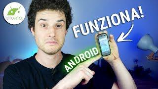 LO SMARTPHONE ANDROID PIÙ PICCOLO AL MONDO: JELLY! Recensione | ITA | TuttoAndroid