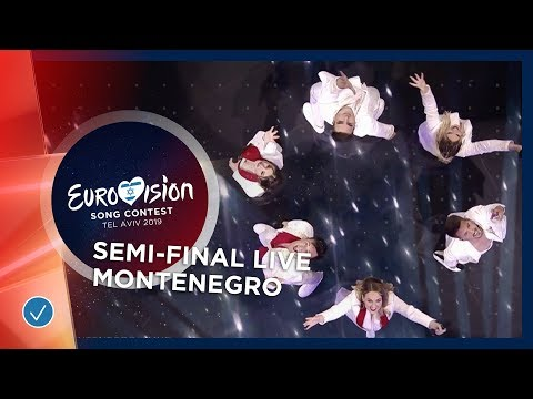 Montenegro - LIVE - D Mol - Heaven - First Semi-Final - Eurovision 2019