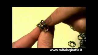 Tutorial Chain Maille: MAGLIA INCAS (con catena da 10mm)