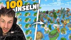 Unglaublich was 100 Spieler auf 100 Inseln innerhalb 24 Stunden alles erbaut haben!